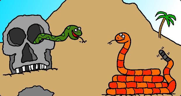 Snake lair